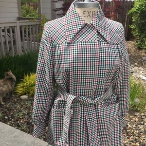Utex Jackets & Coats - Utex vintage spring plaid  jacket